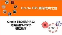 Oracle ERP EBS R12财务应付AP模块基本业务操作