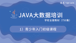 Java大数据培训学校全套教材--1)青少年入门初级课程