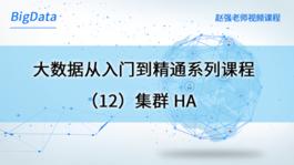 大数据从入门到精通系列课程(12)集群HA