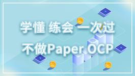 学懂、练会、一次过,不做Paper OCP
